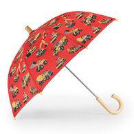 Hatley Boys' Heavy Duty Machines Umbrella