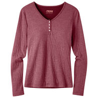 Mountain Khakis Women's Virginia City Henley Long-Sleeve Shirt