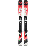 Rossignol Children's Hero Jr. Kid-X 4 System Alpine Ski w/ Bindings