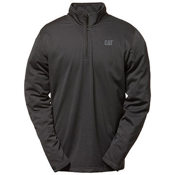 CAT Apparel Men's Flex Layer 1/4-Zip Baselayer Top