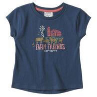 Carhartt Toddler Girl's Graphic Short-Sleeve T-Shirt