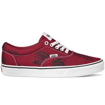 Vans Mens Doheny Canvas Logo Mix Sneaker