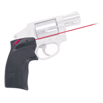 Crimson Trace DS-124 Defender Series Smith & Wesson J-Frame Round Butt Accugrips Laser Sight