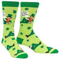 Sock It To Me Men's Irish You Were Here Crew Sock
