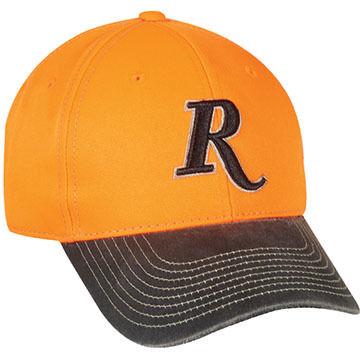 Outdoor Cap Mens Remington Blaze/Black Cap