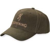 Browning Men's Dura-Wax Solid Color Cap