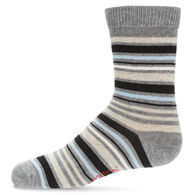 MeMoi Boy's Multi Stripe Crew Sock