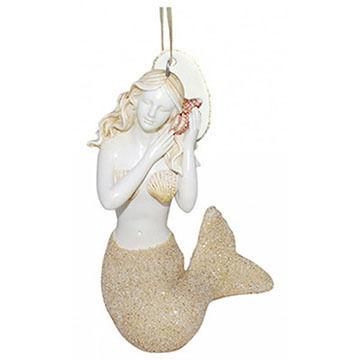 Cape Shore Mermaid Resin Ornament