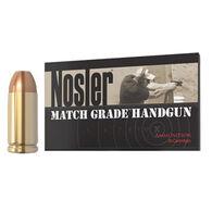 Nosler Match Grade 9mm Luger 124 Grain JHP Handgun Ammo (50)