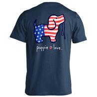 Puppie Love Men's & Women's USA Pup Short-Sleeve T-Shirt