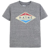 Lakeshirts Boy's Blue 84 Moose Short-Sleeve T-Shirt