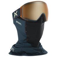 Anon Men's M4 Toric Sonar Snow Goggle + Spare Lens + MFI Facemask