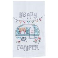 Kay Dee Designs Happy Camper Embroidered Flour Sack Towel