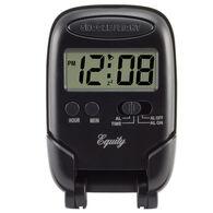 La Crosse LCD Digital Fold-Up Travel Alarm