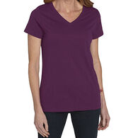 Dickies Women's V-Neck Short-Sleeve T-Shirt