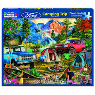 White Mountain Jigsaw Puzzle - Camping Trip