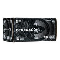 Federal Black Pack 45 Auto 230 Grain FMJ Handgun Ammo (150)