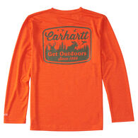 Carhartt Boys' Force Get Outdoors Long-Sleeve T-Shirt