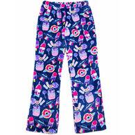 Candy Pink Girl's Galaxy Food Pajama Pant