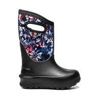 Bogs Girls' Neo-Classic Real Flowers Insulated Boot