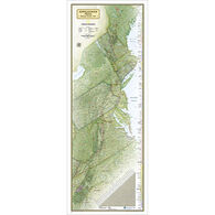 Appalachian Trail Wall Map by National Geographic