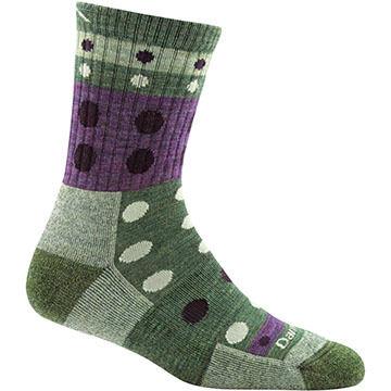 Darn Tough Vermont Womens Blazes Micro Crew Cushion Sock