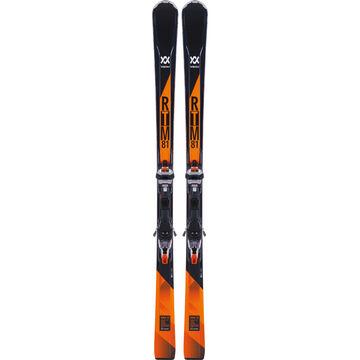 Volkl RTM 81 Alpine Ski w/ Wideride XL 12 TCX GW Orange Binding - 17/18 Model