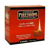 Wood Products Fatwood Firedrops Fire Starter - 8 Pk.