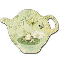 Keller Charles Serenity Frog Teabag Holder