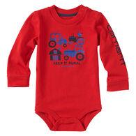Carhartt Infant/Toddler Boys' Keep It Rural Long-Sleeve Bodyshirt