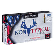 Federal Non-Typical 300 Winchester Magnum 150 Grain Soft Point Rifle Ammo (20)