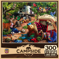 Leanin' Tree Jigsaw Puzzle - Campsite Trouble