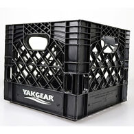 Yak Gear Black Kayak Fishing Milk Crate