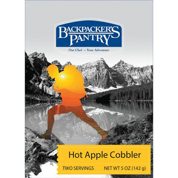 Backpackers Pantry Hot Apple Cobbler - 2 Servings