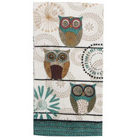 Kay Dee Designs Spice Road Owl Terry Kitchen Towel