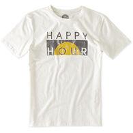 Life is Good Men's Happy Hour Block Sleep T-Shirt