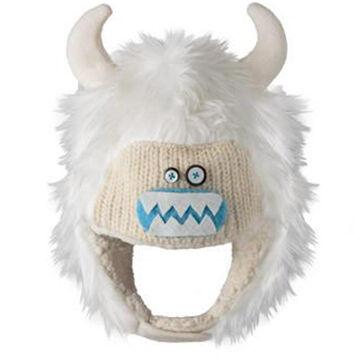 Knitwits Infant Boys & Girls Yuki the Yeti Animal Hat