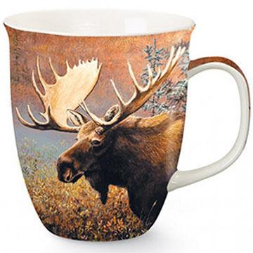 Cape Shore Maine Paintery Moose Harbor Mug
