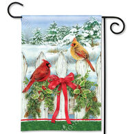 BreezeArt Winter Splendor Decorative Garden Flag