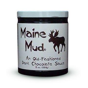 Maine Mud Old Fashioned Dark Chocolate Sauce - 4 oz.
