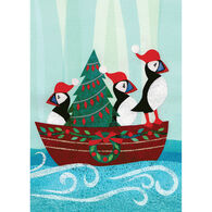 Allport Editions Puffins Boat Boxed Holiday Cards