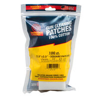 "Shooter's Choice 2.5"" Gun Cleaning Patch - 100 Pk."