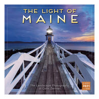 Sellers Publishing The Light of Maine 2021 Wall Calendar: The Landscape Photography of Colin Zwirner