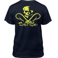 Salt Life Youth Skull Hooks Short-Sleeve T-Shirt
