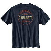 Carhartt Men's Relaxed Fit Heavyweight Rugged Graphic Pocket Short-Sleeve T-Shirt