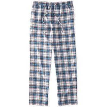 Life is Good Men's Blue Plaid Classic Sleep Pant
