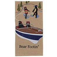 Park Designs Bear Footin Dish Towel