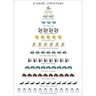 Allport Editions A Maine 12-Days of Christmas Boxed Holiday Cards