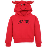Wild Child Hoodies Boys' & Girls' Red Lobster Hooded Sweatshirt
