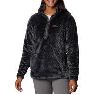 Columbia Women's Fire Side Quarter Zip Sherpa Fleece Pullover
